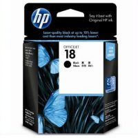 HP 18 Black Ink Cartridge
