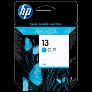 HP 13 Cyan Ink Cartridge