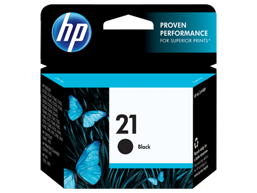 Jual HP 21 Black Ink Cartridge