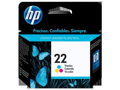 Jual HP 22 Tri-Color Ink Cartridge