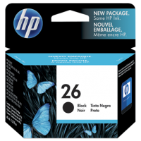 HP 26 Black Ink Cartridge