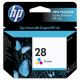Jual HP 28 Tri-Color Ink Cartridge
