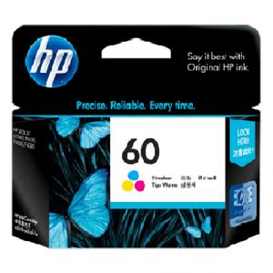 Jual HP 60 Tri-Color Ink Cartridge