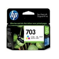 HP 703 Tri-Color Ink Cartridge