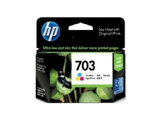 HP 703 Tri-Color Ink Cartridge