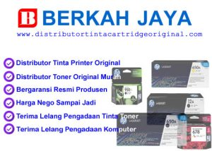 Distributor tinta toner printer original